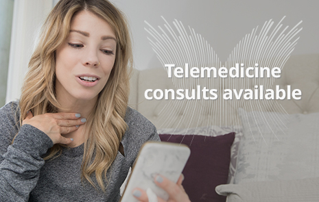 Telemedicine consults available